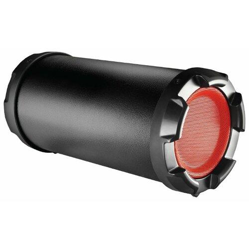 Портативная акустика Ginzzu GM-987B черный / красный