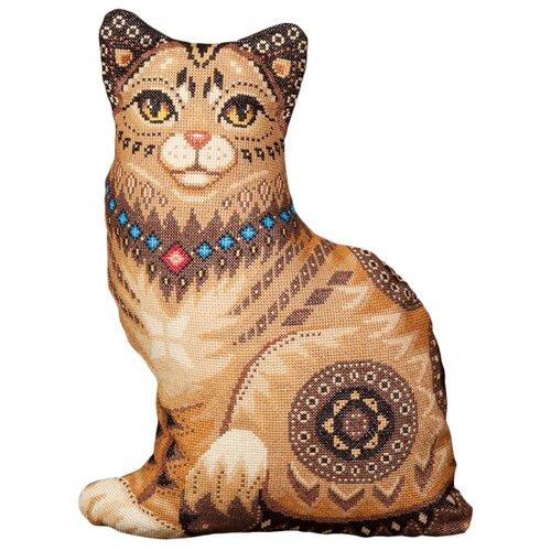 Купить PANNA Набор для вышивания Подушка Кошка 34.5 х 46.5 см (PD-1636), Наборы для вышивания