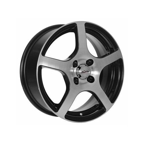 Фото - Колесный диск X'trike X-118 6x15/4x100 D60.1 ET45 BK/FP колесный диск x trike x 105 6x15 4x100 d67 1 et45 bk fp