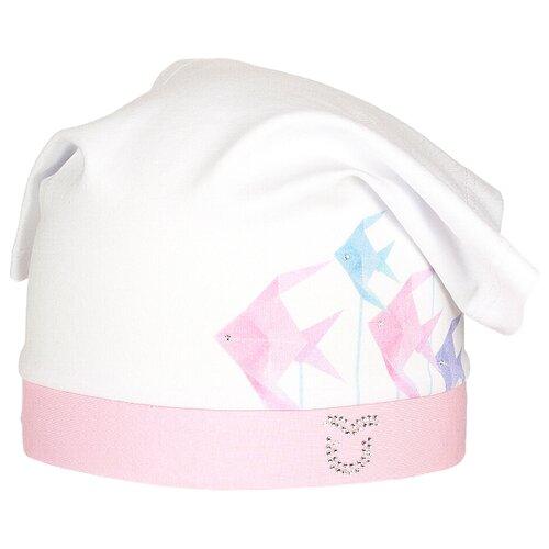 Купить Косынка ULTIS размер 50-52, белый/розовый, Головные уборы
