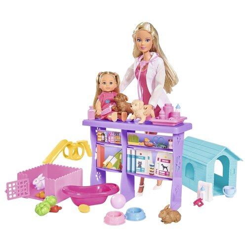 Набор кукол Steffi Love Мир животных, 29 и 12 см, 5733040