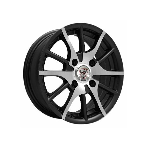 Фото - Колесный диск NZ Wheels F-5 6.5x15/4x98 D58.6 ET35 BKF колесный диск nz wheels sh665 5 5x14 4x98 d58 6 et35 bkf
