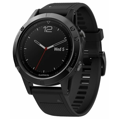 Часы Garmin Fenix 5 Sapphire черный
