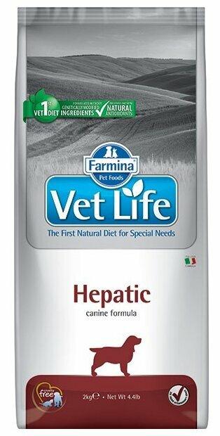 Корм для собак Farmina Vet Life при заболеваниях печени 10 кг
