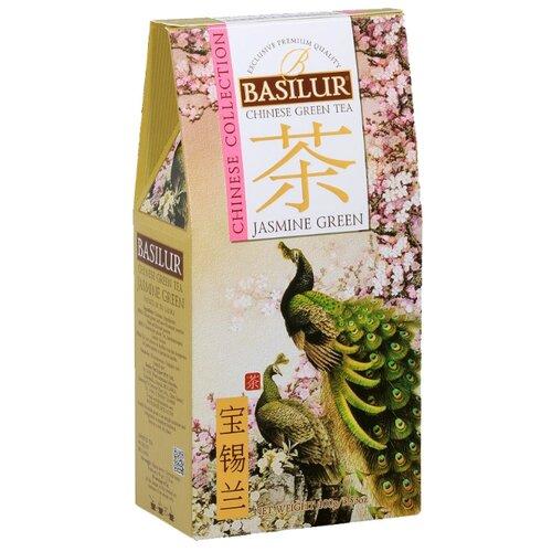 Чай зеленый Basilur Chinese collection Jasmine green , 100 г цена 2017