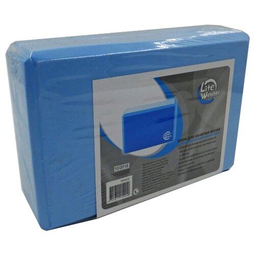 Блок для йоги Lite Weights 5494LW синий