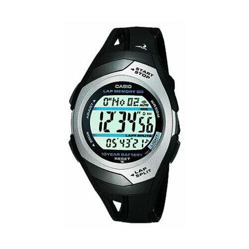 цена Наручные часы CASIO STR-300C-1V онлайн в 2017 году