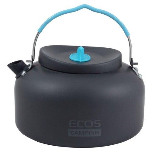 Чайник ECOS K6003-11, 1.4 л черный/синий