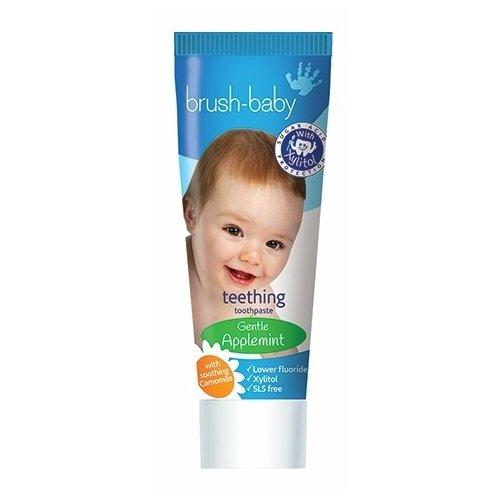 Купить Зубная паста Brush Baby BRB091 0-2 лет, 50 мл, Гигиена полости рта