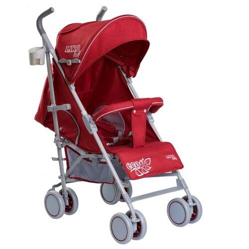 Купить Прогулочная коляска Liko Baby BT-109 City Style ECO красный, Коляски