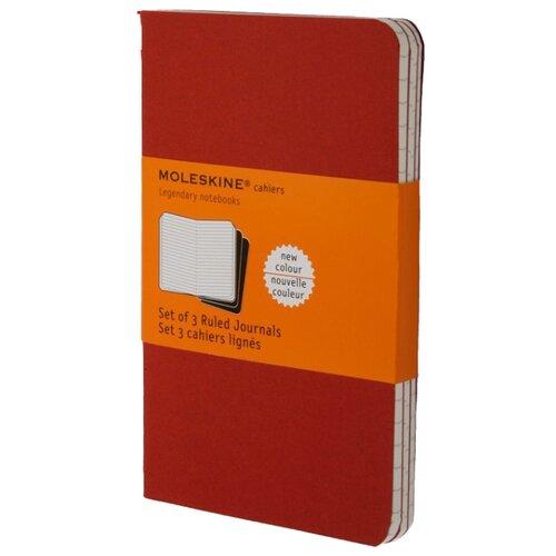 Комплект блокнотов 3 шт. Moleskine Набор 3 блокнота Cahier Journal Large 130x210, 40 листов 394895(CH116)