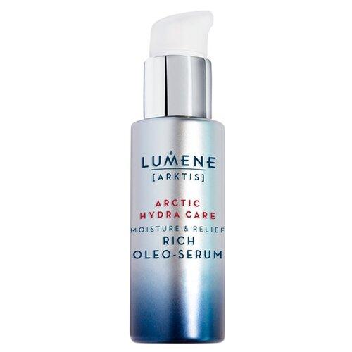 Lumene Arktis Moisture and Relief Rich Oloe-serum Увлажняющее и успокаивающее насыщенное масло-сыворотка для лица, 30 мл