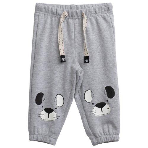 Купить Брюки playToday размер 68, серый, Брюки и шорты