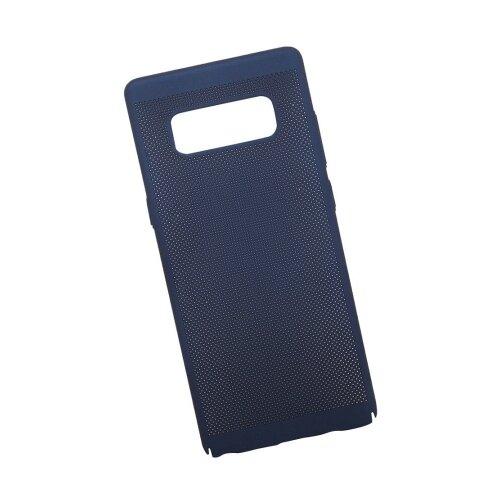 Чехол Liberty Project Сетка Soft Touch для Samsung Note 8 темно-синийЧехлы<br>