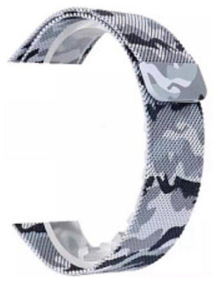 Karmaso Ремешок для Apple Watch 42 мм миланская петля милитари