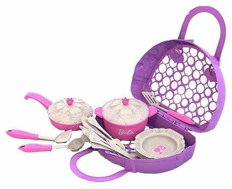 Набор посуды Нордпласт Барби 632