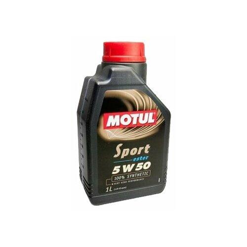 Синтетическое моторное масло Motul Sport 5W50, 1 л