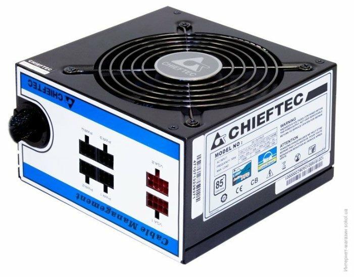 Блок питания Chieftec CTG-650C 650W