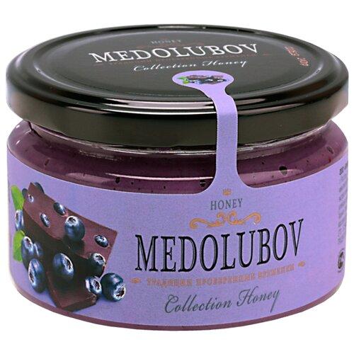 Крем-мед Medolubov черника с шоколадом 250 мл
