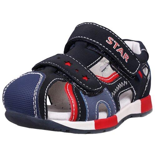 Сандалии Biker размер 21, темно-синийОбувь для малышей<br>