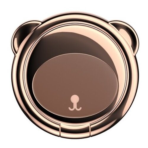 Baseus Bear Finger Ring Holder коричневый