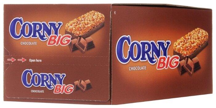 Злаковый батончик Corny Big Chocolate с шоколадом, 24 шт