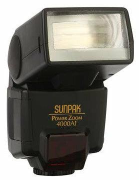 Вспышка Sunpak PZ4000AF for Canon