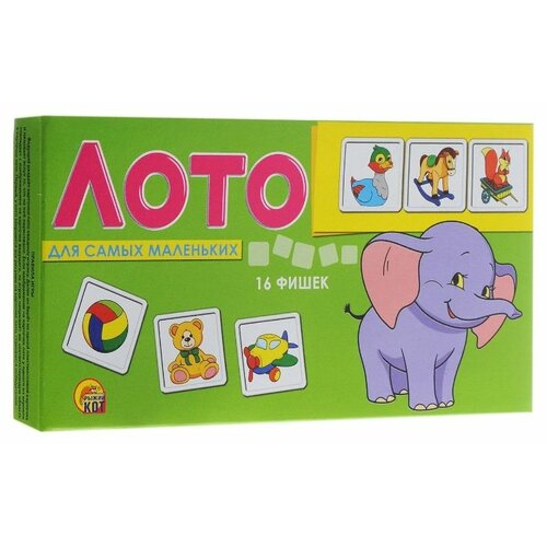 Купить Настольная игра Рыжий кот Лото для самых маленьких ИН-9057, Настольные игры