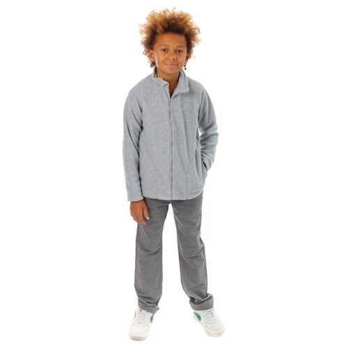 Олимпийка V-Baby размер 98, серый меланж брюки v baby размер 98 черный