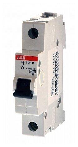 Автоматический выключатель ABB S201M 1P (C) 10kA