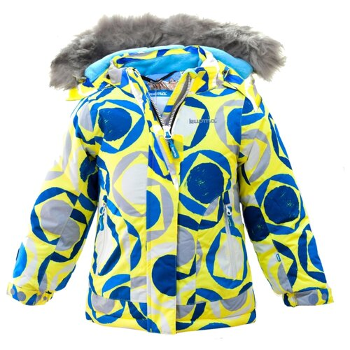 Куртка Kuoma DINA 9008 размер 104, синий / желтыйКуртки и пуховики<br>