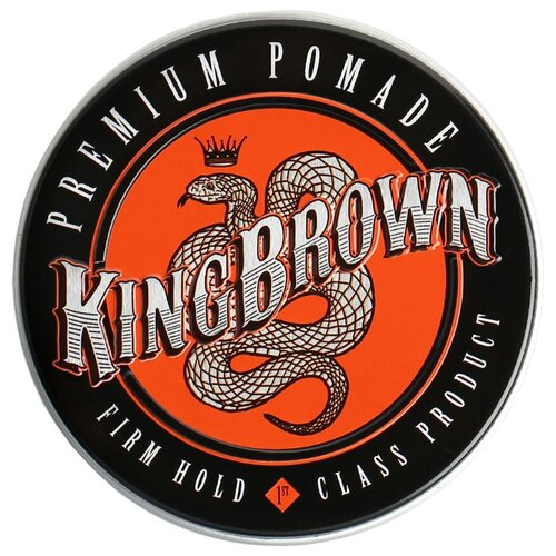 King Brown Помада Premium Pomade, 75 г