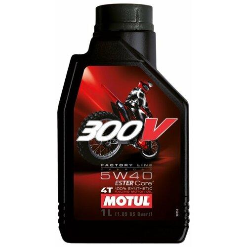 Фото - Синтетическое моторное масло Motul 300V Factory Line Off Road 5W40 1 л моторное масло motul 300v 4t fl road racing 5w 40 1 л