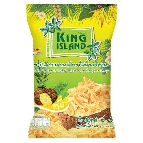 Чипсы King Island кокосовые с
