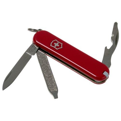 Нож многофункциональный VICTORINOX Rally (9 функций) с чехлом красный фото