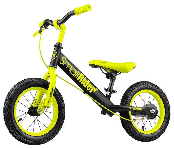 Беговел Small Rider с надувными колесами и тормозом Ranger 2 Neon (зеленый)