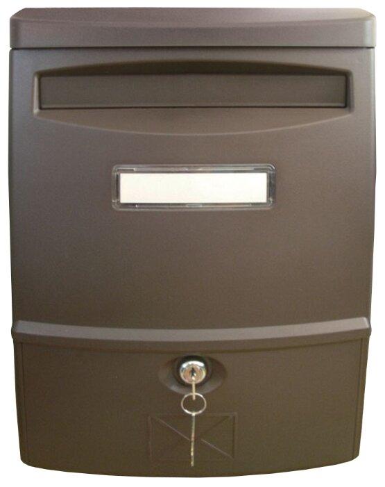 Почтовый ящик ПРОМЕТ LTP-02 383 х 272 мм коричневый