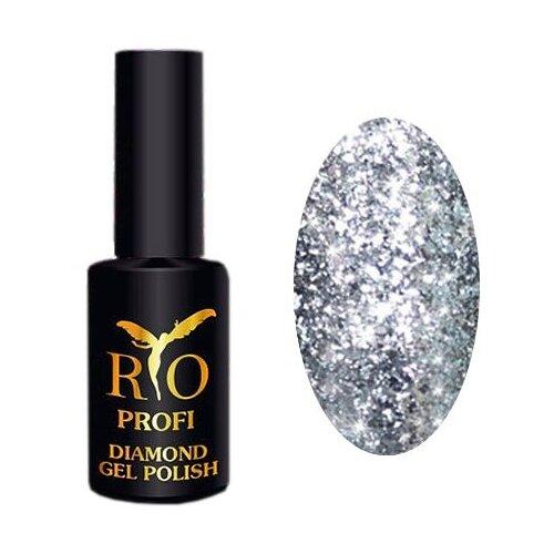 Купить Гель-лак для ногтей Rio Profi Diamond, 7 мл, 1 алмазные искры