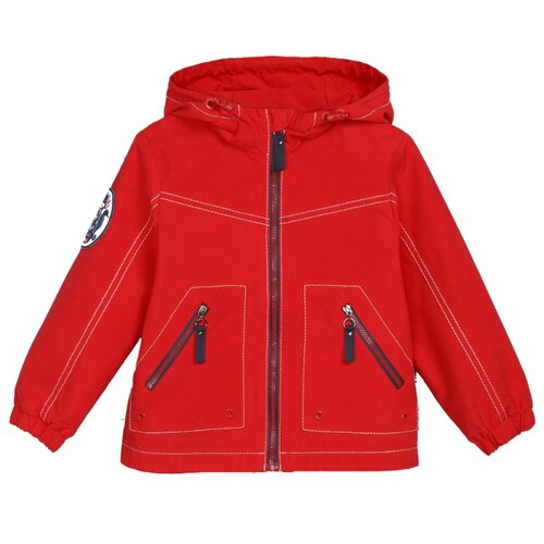 Купить Куртка ЁМАЁ 39-153 размер 128, красный, Куртки и пуховики
