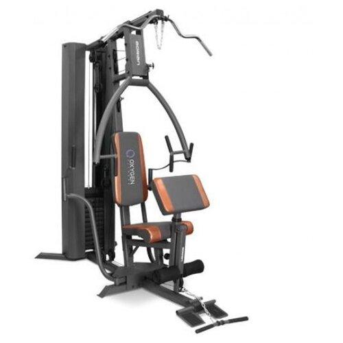 Многофункциональный тренажер Oxygen Fitness Adrian серый/оранжевый тренажер многофункциональный royal fitness bench 1520