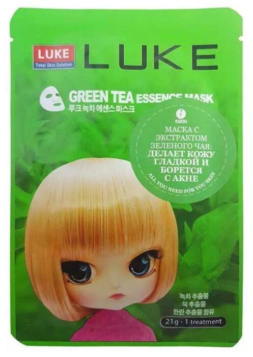 LUKE маска с экстрактом зеленого чая Green Tea Essence Mask