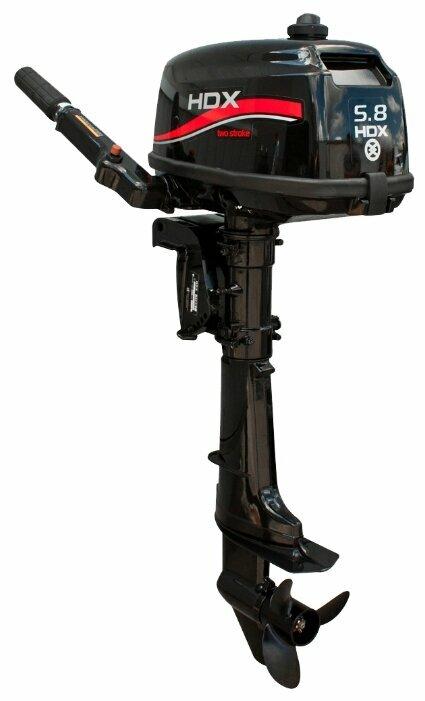 Мотор подвесной лодочный HDX T 5,8 BMS R-Series, 2-х тактный