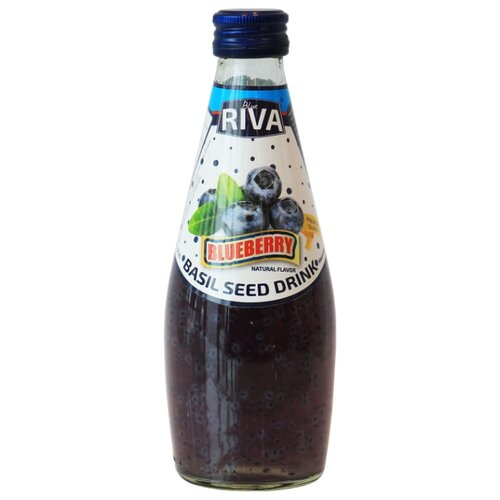 Напиток сокосодержащий Blue Riva Черника и семена базилика, 0.29 л