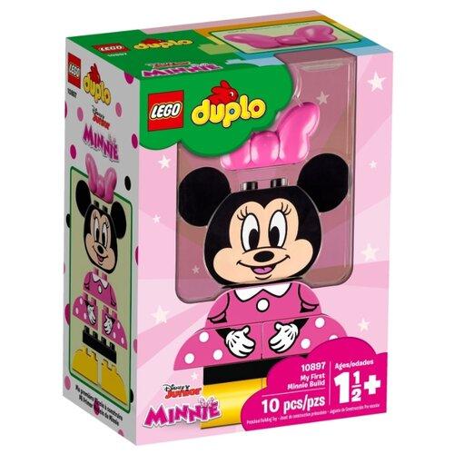 Конструктор LEGO Duplo 10897 Моя первая Минни lego duplo 10837 новый год lego
