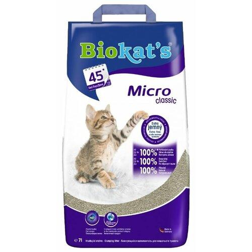Комкующийся наполнитель Biokat's Micro Classic 7 л