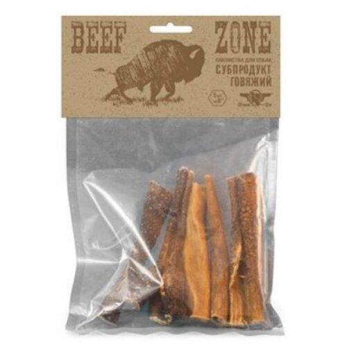 лакомство greenqzin beef zone сушеное говяжье мясо полосками 3 дюйма субпродукт говяжий для собак 400г bz3st Лакомство для собак Green Qzin Beef zone Сушеное говяжье мясо 6, 5шт. в уп.