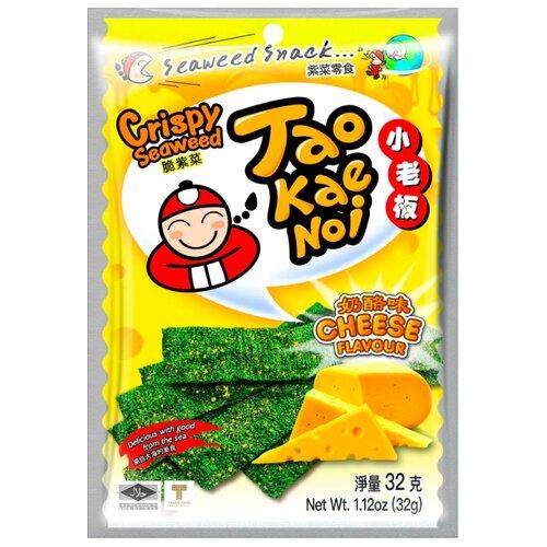 Снэк из морских водорослей Tao Kae Noi с сырным вкусом 32 гСнэки, закуски<br>