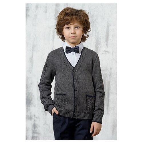 Пиджак VAY размер 146, серый кардиган vay vay va017ewwkq84
