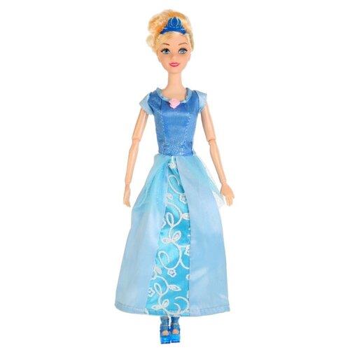 Кукла Карапуз София Принцесса в голубом платье, 29 см, P03103-2-S-KB кукла карапуз герда 29 см снежная королева в голубом платье карапуз