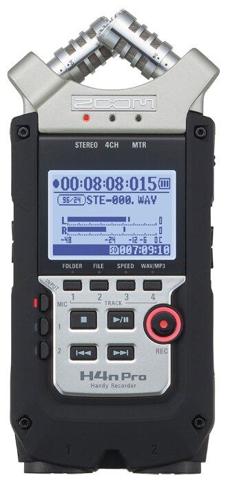 Сравнение с Портативный рекордер Zoom H4n Pro